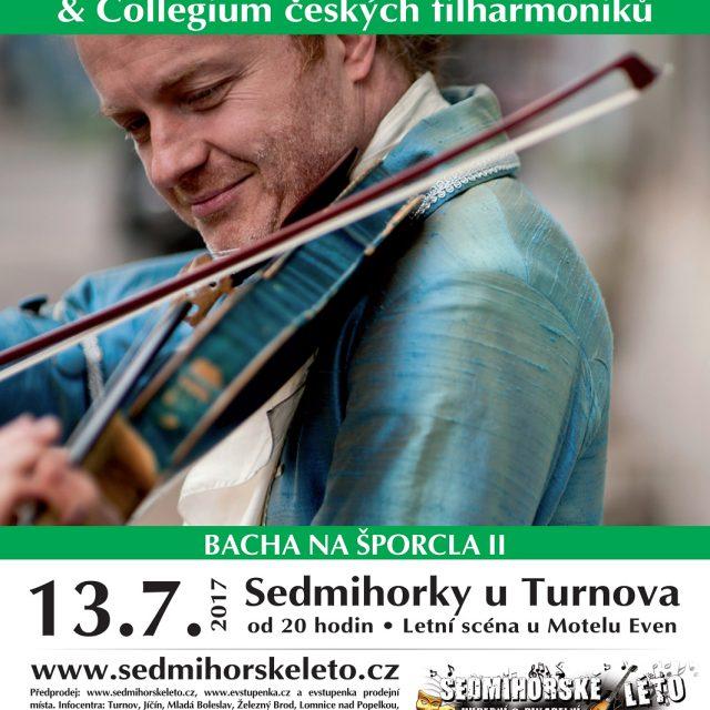 13. 7. • PAVEL ŠPORCL & Collegium českých filharmoniků