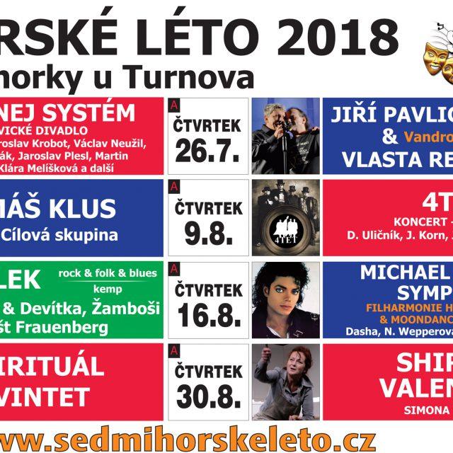 SEDMIHORSKÉ LÉTO 2018